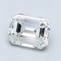 Blue Nile 1.51 克拉 绿宝石形钻石(净度VVS2、成色G、切割VG)