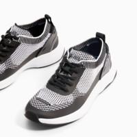 ZARA 男童 科技面料运动鞋