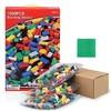乐婷美欣 积木玩具1000颗粒(加送4个小人仔+拼装底板) 45.9元包邮(需用券)