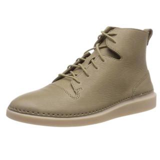 Clarks 其乐 Hale Rise 26138128 女士牛皮高帮休闲鞋