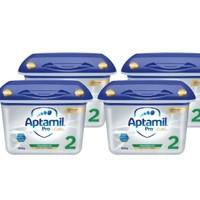 Aptamil 爱他美 铂金版 婴儿奶粉 2段 800g 4罐