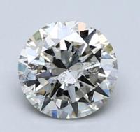 Blue Nile 1.00 克拉圆形钻石(净度SI2、成色H、切割VG)