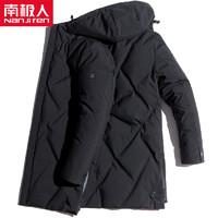 Nan ji ren 南极人 59068 男士羽绒服 (白鸭绒)