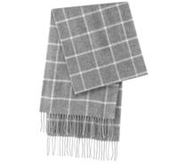 MUJI 无印良品 F8AD612 羊毛围巾 (咖啡色)