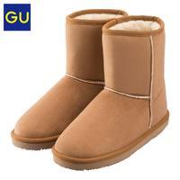 GU 极优 305707 女士雪地靴 (36、桃红色)