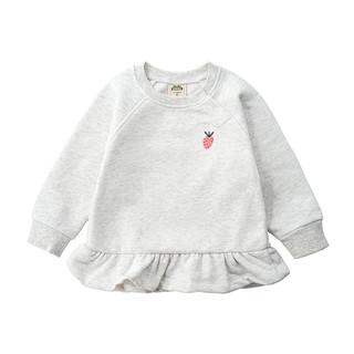 Minizone 女宝宝薄绒卫衣