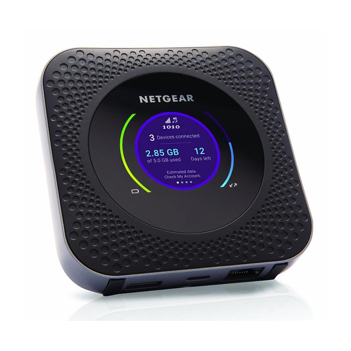 NETGEAR 美国网件 NightHawk M1 港版 5G 便携路由器