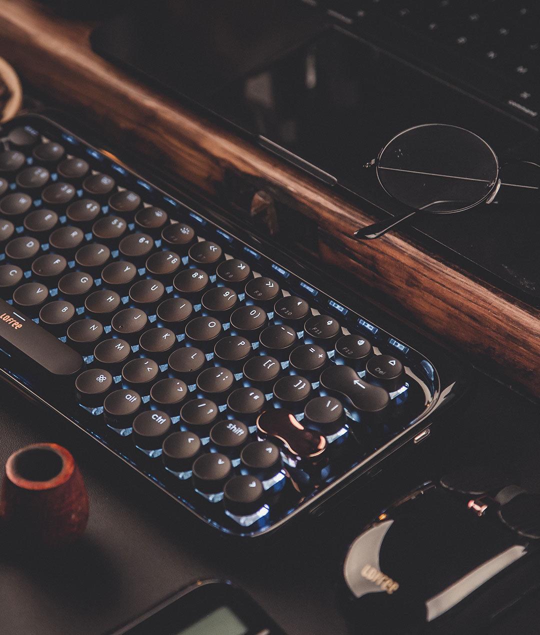 LOFREE 洛斐 新年款 墨金套装 键鼠套装+Poison 音箱+拾光灯+Digit计算器