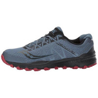 saucony 圣康尼 1ce088b4 Grid Caliber TR Trail 男士运动休闲慢跑鞋 (48、Grey Red)