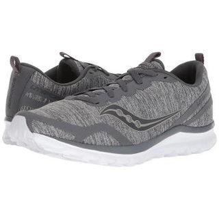 saucony 圣康尼 de5a2392 Liteform Feel 男士运动跑步鞋男士 (45、Grey )