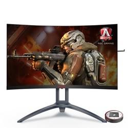 AOC AGON 爱攻III AG273QCX 27英寸 VA曲面电竞显示器(2560x1440、144Hz、FreeSync2、102%NTSC)