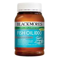 BLACKMORES 澳佳宝 无腥味深海鱼油软胶囊 400粒