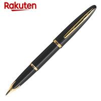 WATERMAN 威迪文 Carene海韵豪华 RAK44-035 18K金笔 (金属、F尖、黑杆GT)