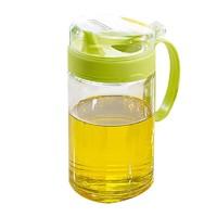 茶花 厨房玻璃防漏油壶 450ml