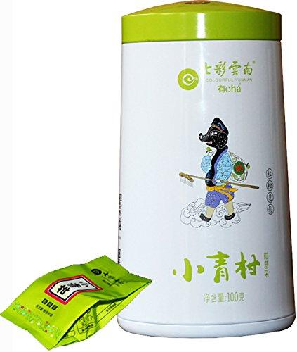 七彩云南 新会小青柑 普洱茶 熟茶 2018年 100g