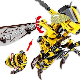 SEMBO BLOCK 森宝积木 机械密码系列 703200 大黄蜂