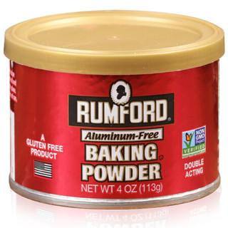 拉姆雷德无铝泡打粉 美国进口烘焙原料发酵粉 包子馒头酵母 面包蛋糕复配膨松剂 113g