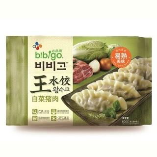 bibigo 必品阁 白菜猪肉王水饺 600g 24只装 *4件