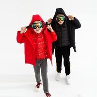 考拉工厂店 三穿儿童滑雪羽绒服