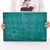 得力A4切割垫板模型垫板雕刻垫板鼠标垫规格高密度PVC材质强度高可重复切割结实耐用绿色单块切割垫板 9.5元包邮