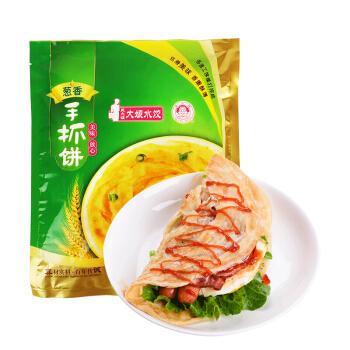 大娘水饺 葱香味手抓饼(10片装) (袋装、葱香味、900g)