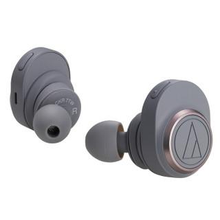 历史低价 : audio-technica 铁三角 ATH-CKR7TW 真无线蓝牙运动耳机