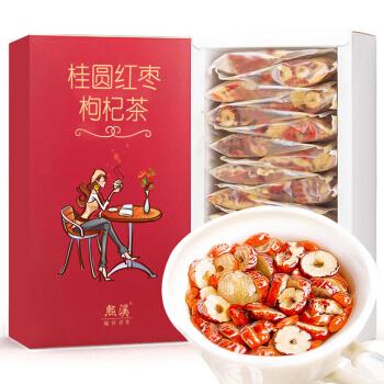 熙溪 桂圆红枣枸杞养生八宝茶300g(20袋) *7件