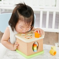 淘宝心选 儿童木质形状盒 益智玩具