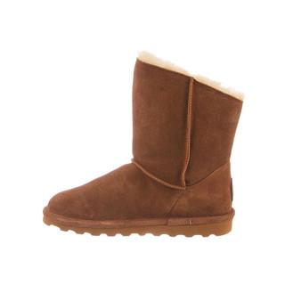 限尺码 : BEARPAW 1901W-220 女士经典羊毛中筒靴
