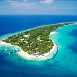 五星海岛!全国多地-马尔代夫库拉玛提岛7天5晚自由行(2晚沙屋+2晚水屋+早中晚餐全含)