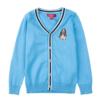 Hush Puppies 暇步士 男童针织衫 纯色V领开衫 *4件 302.72元(合75.68元/件)