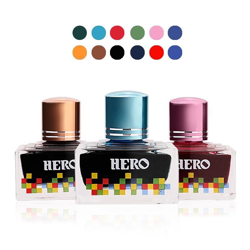 HERO 英雄 7100 彩色墨水 40ML 多色可选