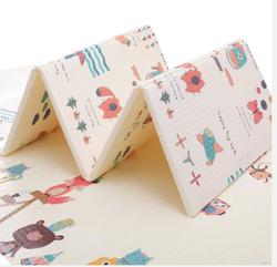 乐缔 爬行垫折叠垫XPE 婴儿童便携爬爬垫宝宝加厚双面户外游戏垫环保泡沫地垫 *3件