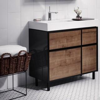 KOHLER 科勒浴室柜 K-96121T+K-20020T 柜体+台盆组合 900MM