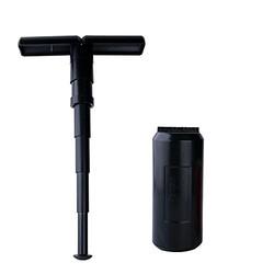 BANANA 便携式迷你多功能伸缩折叠凳子 黑色