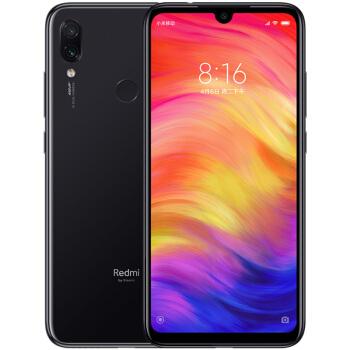 Redmi 红米 Note 7 智能手机 (3GB、32GB、全网通、亮黑色)