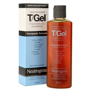 Neutrogena 露得清 T/Gel 去屑去痒配方洗发液 200ml