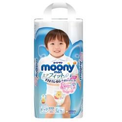 moony 尤妮佳 男婴用拉拉裤 XL38片 4包装 *2件