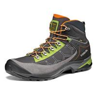 阿索罗(ASOLO) 户外登山鞋越野徒步鞋男士GTX防水透气防滑高帮 A40016 381绿灰色 欧码42-1/2 英码8.5