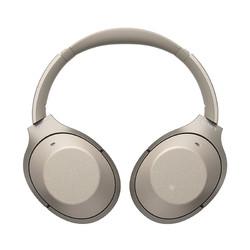 SONY 索尼 WH-1000XM2 Hi-Res无线智能降噪耳机 香槟金