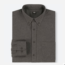 UNIQLO 优衣库 409283 男士法兰绒衬衫