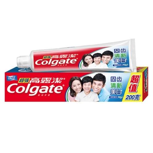 Colgate 高露洁 牙膏 200g*3支 送40g*2支