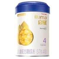 wyeth 惠氏 启赋 儿童牛奶粉 4段 900g 4罐装