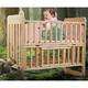 BabyCare 婴儿实木拼接床