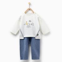 9号:Tong Tai 童泰 婴儿套头休闲套装 3-24月
