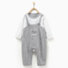 Tong Tai 童泰 婴儿假两件长袖连体衣 3-18月 86.4元