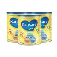Karicare 可瑞康 牛奶婴幼儿配方 2段*3罐