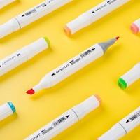 名韵 A1-001 双头马克笔 24色 送勾线笔+高光笔