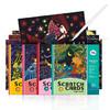 Joan Miro 美乐 刮画本 四本组合套装 *4件 199.6元包邮(合49.9元/件)