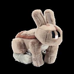 兔子 毛绒公仔 我的世界